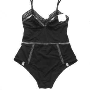 Calvin Klein Black Bodysuit